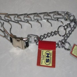 Herm Pinch Collar with Quick Release Buckle  (Large 50 lb and up)